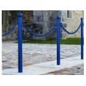 Poteaux de voirie Déco avec anneaux pour chaines # MU3651