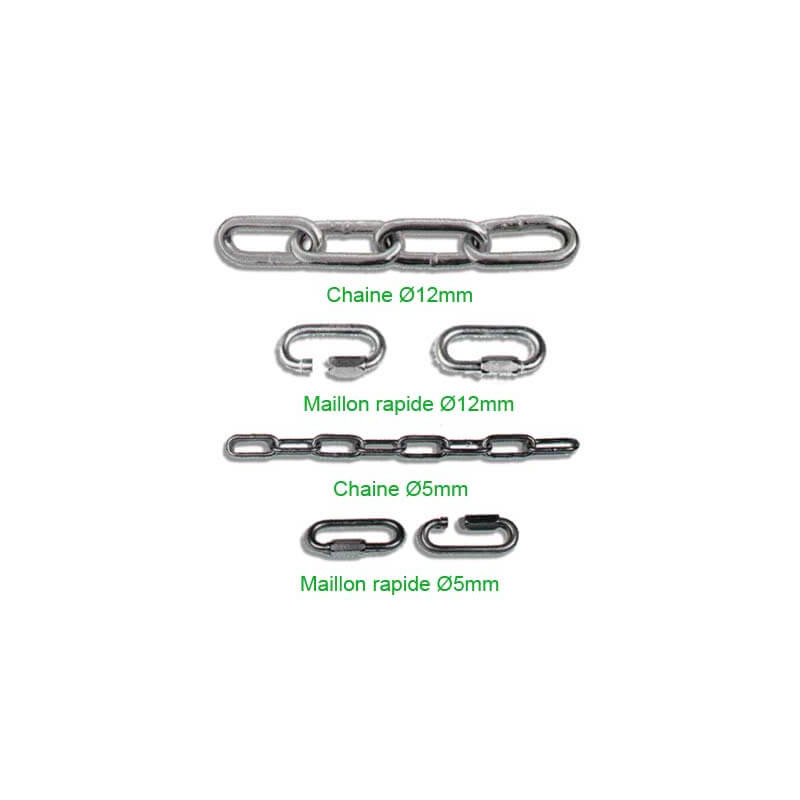 Chaines pour poteaux Déco # MU3681