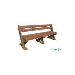 Banc forestier Ecolosign dos confort # MU3853N