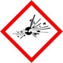 panneau signalétique sécurité explosif # AD0501