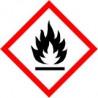 panneau signalétique sécurité gaz inflammable # AD0033