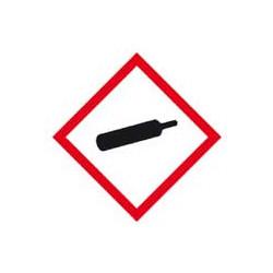 panneau signalétique sécurité gaz sous pression # AD0531