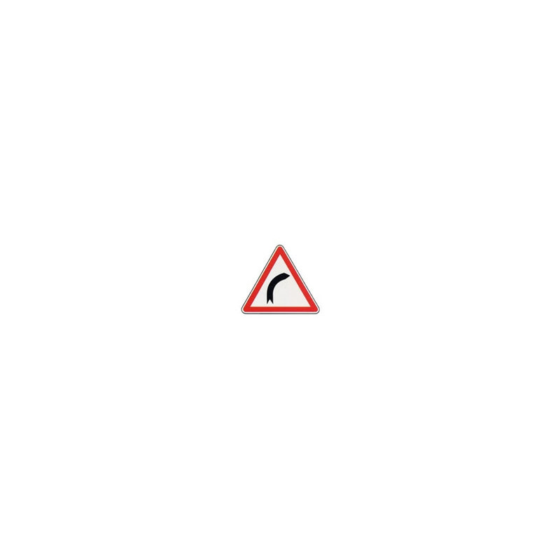 Panneau triangle A1a # PR100A1a1000
