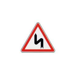 Panneau triangle A1d # PR100A1d700
