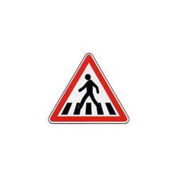 Panneau triangle A13b # PR10A13b700