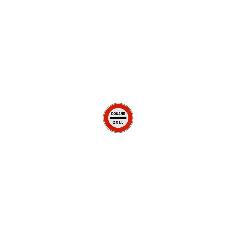 Panneau rond B4 # PR2000B4850