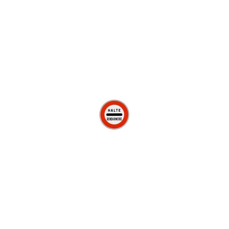 Panneau rond B5a # PR100B5a650