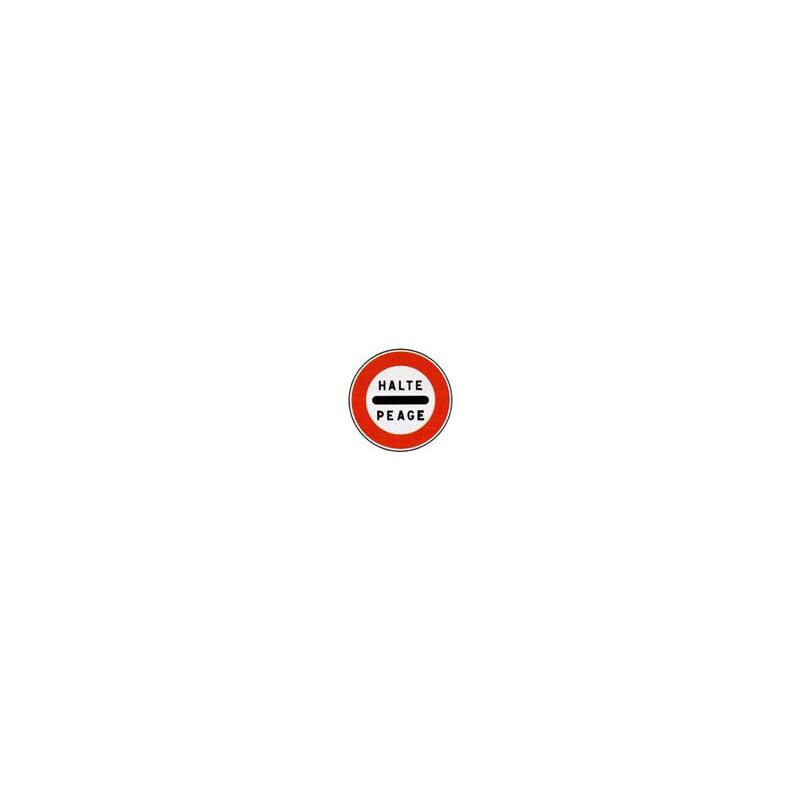 Panneau rond B5c # PR100B5c650