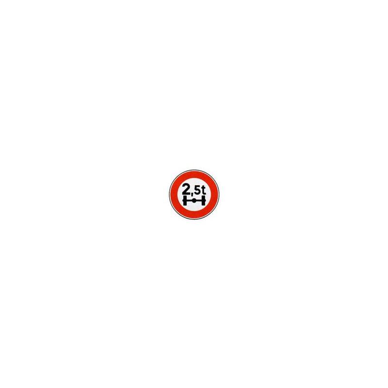Panneau rond B13a # PR10B13a650