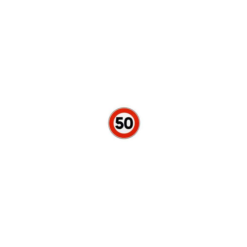 Panneau rond B14 # PR100B14650