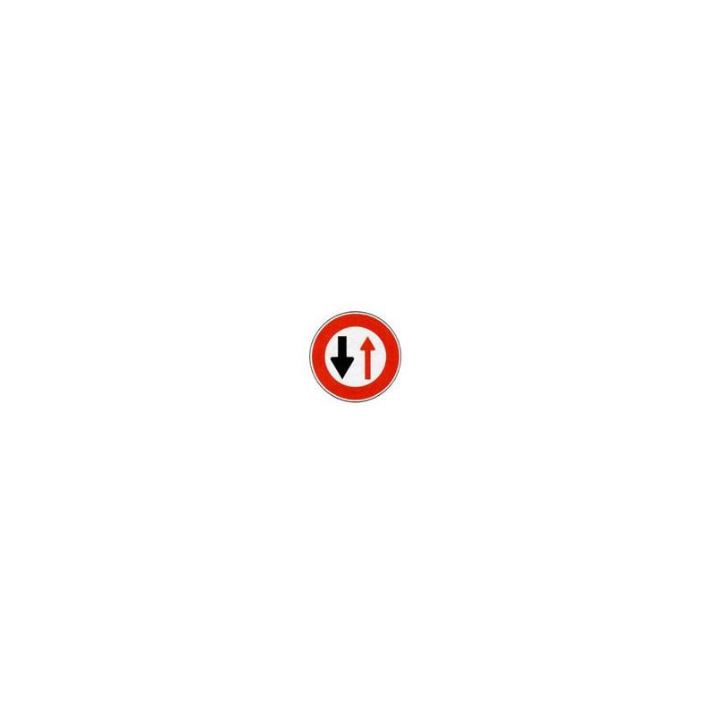 Panneau rond B15 # PR100B15650