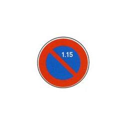 Panneau rond B6a2 # PR10B6a2650