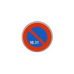 Panneau rond B6a3 # PR10B6a3650