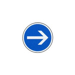 Panneau rond B21-1 # PR1B21-1650