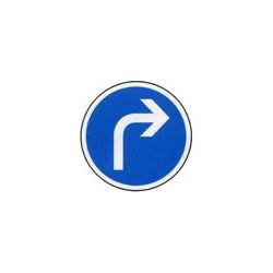 Panneau rond B21c1 # PR1B21c1650