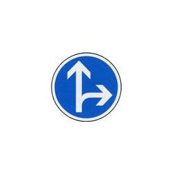 Panneau rond B21d1 # PR1B21d1650