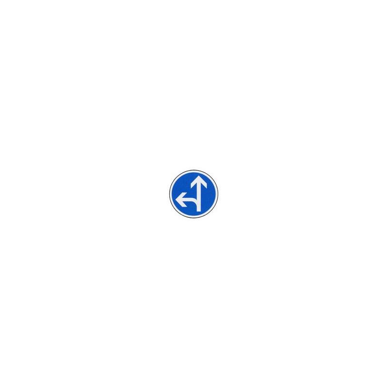Panneau rond B21d2 # PR1B21d2650