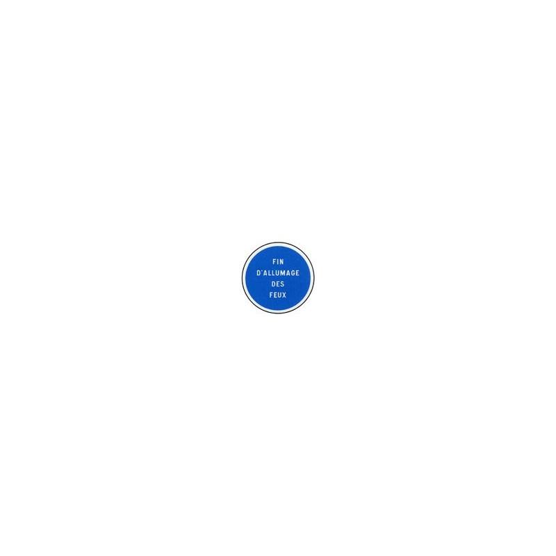 Panneau rond B49 # PR100B49650