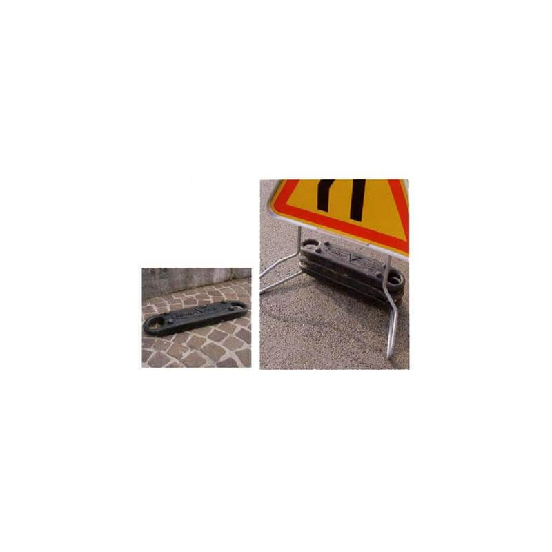 Leste pour pieds de panneaux temporaires # PR0121