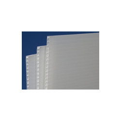 Plaque de Polypropylène blanc 600gr/m² # MP0131