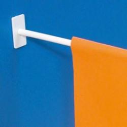 Porte drapeau base adhésive droite # AC3711