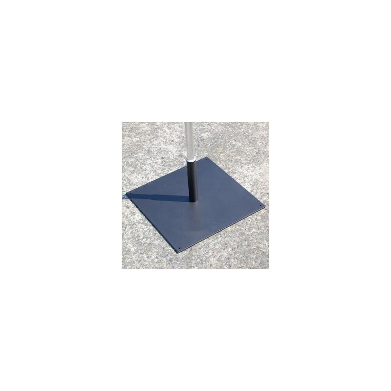 voile d'animation pied platine carré # MU6531