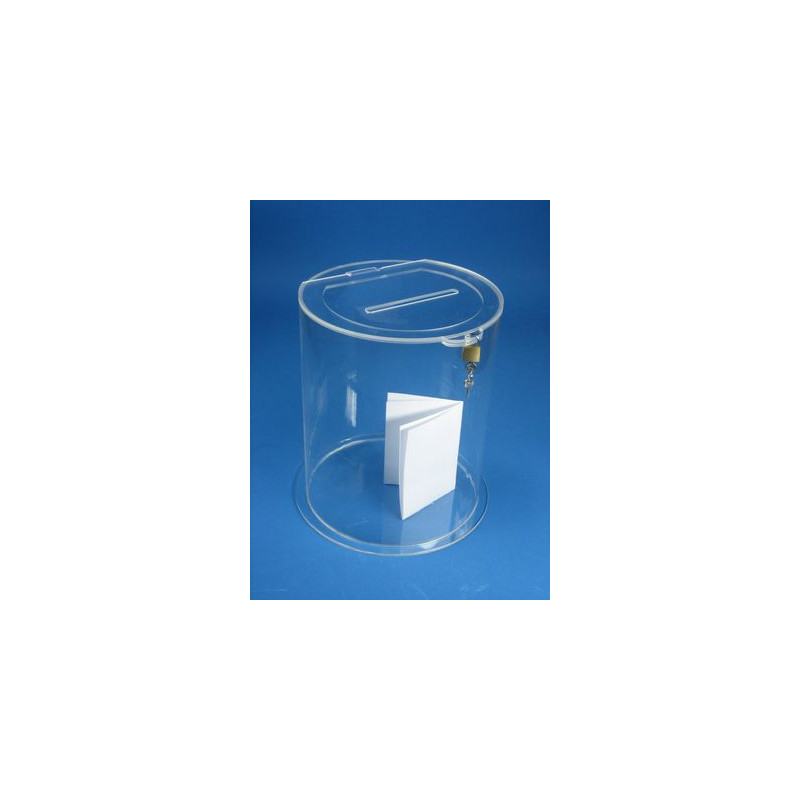 Urne ronde en plexi # PB0259