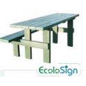 Table forestière handicapé Ecolosign # MU3941N