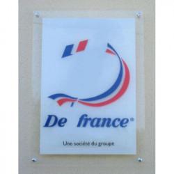 Panneau Plexi transparent personnalisé # DP0334