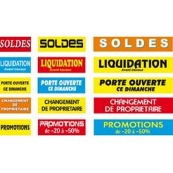 Calicots soldes, Liquidation, Promotions.... # BC2303