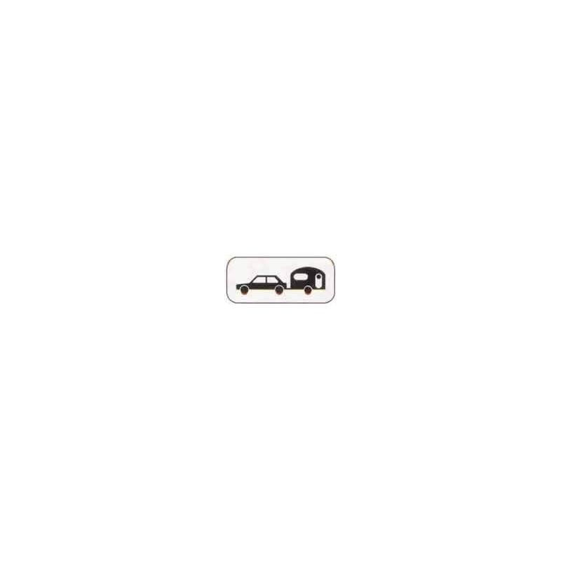 Panonceau M4x # PR100M4X350