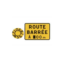 Panneau rectangle KC1d # PR10KC1d80-60