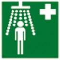 panneau signalétique douche # AD0191