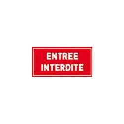 signalisation entrée interdite # DP1111