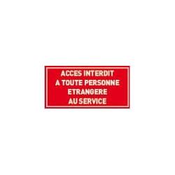panneau accès interdit # DP1121