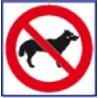 panneau signalisation interdit aux chiens # AD1171