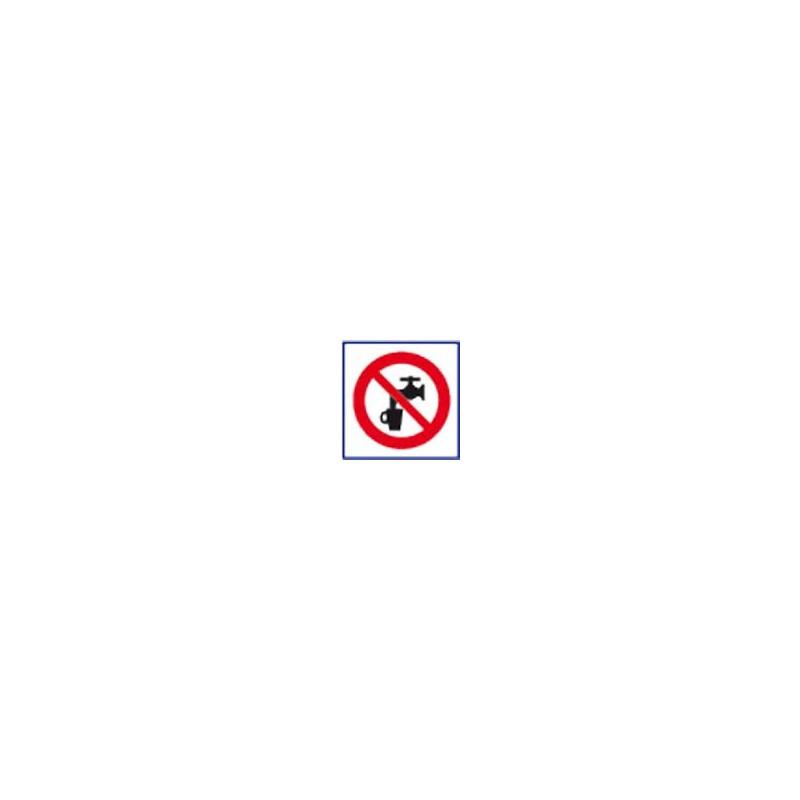 panneau signalisation eau non potable # AD1121