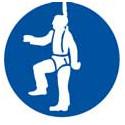 panneau signalisation protection obligatoire contre chutes # AD1441