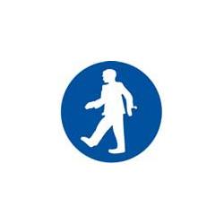 panneau signalisation protection obligatoire piétons # AD1445