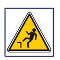 panneau sécurité chutes dénivellation # AD5721