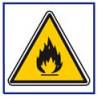 panneau sécurité matière inflammables # AD5741