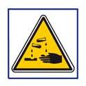 panneau sécurité matière corrosive # AD5745