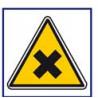 panneau sécurité matière nocive irritante # AD5751
