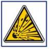 panneau sécurité matière explosive # AD5755