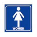 toilettes femme # DP1351