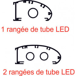 Rampe lumineuse tube LEDS # EC2701