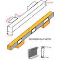 Rampe led cubic # EC2811