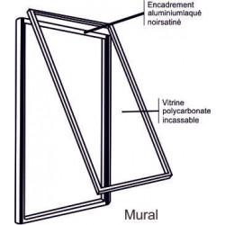 cadre porte affiche vitrine  # VT0701