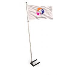 mât drapeau pavillon publicitaire # MU6611
