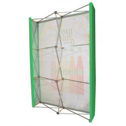 Stand parapluie droit Line'Wall, bords carrés # MB6101